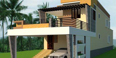 Giri homes Kabisthalam Elevation
